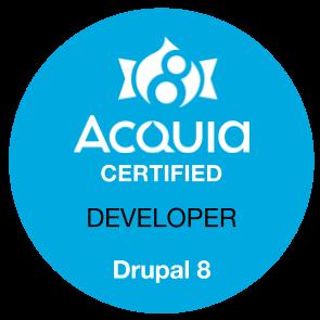 Acquia Certified Developer - D8