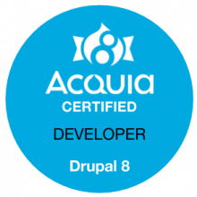 Acquia Certified Developer - D8